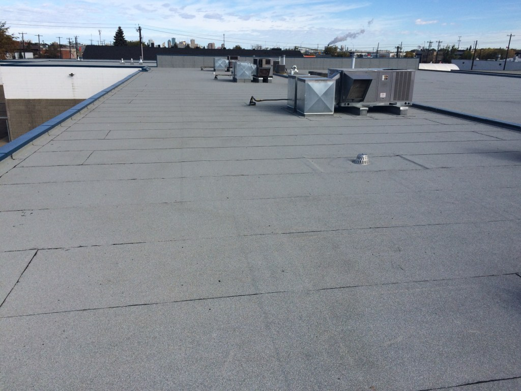 Flat roofing SBS system