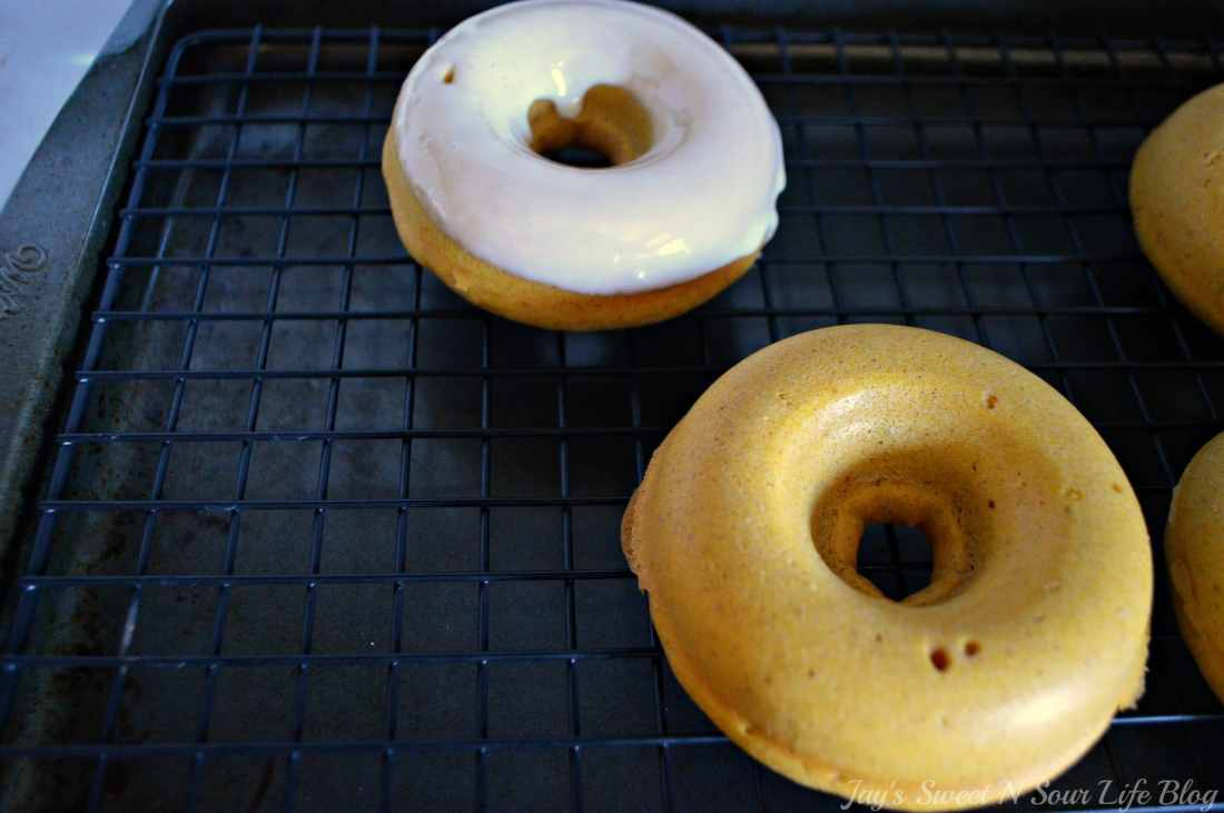 Baked Buttermilk Pumpkin Donuts step 27. Calling all pumpkin lovers! Try my moist Baked Buttermilk Pumpkin Donut Recipe. Frosted with cream cheese and baked to perfection in my No Yeast Recipe.