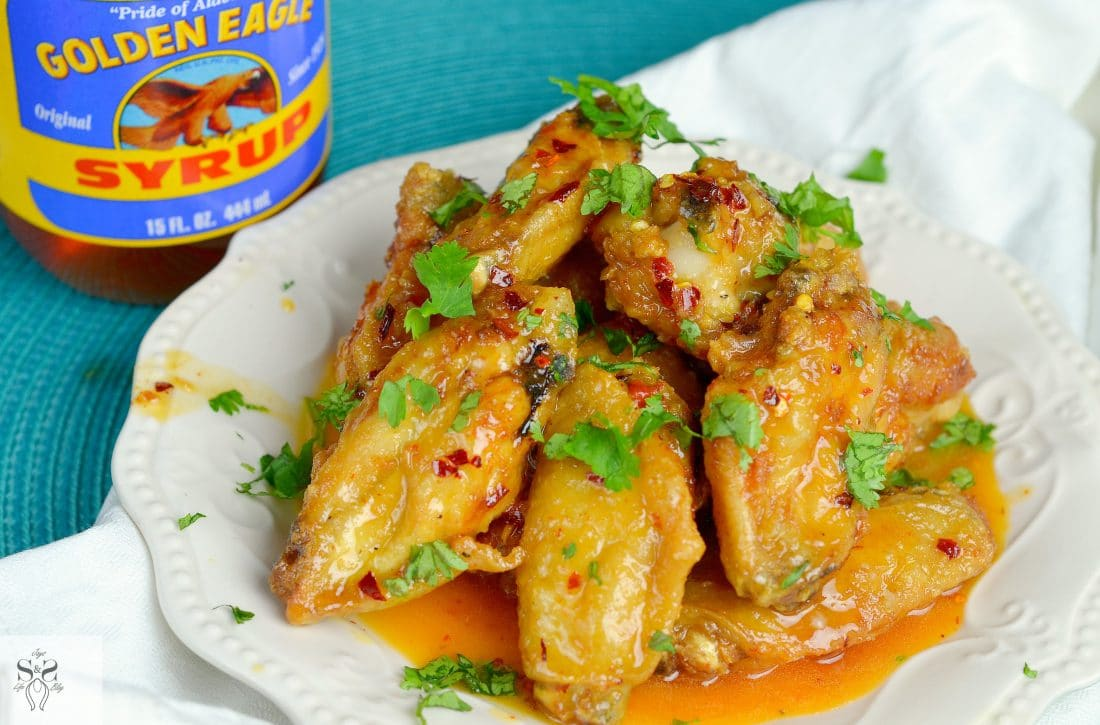 Spicy Buttery Chicken Wings 3