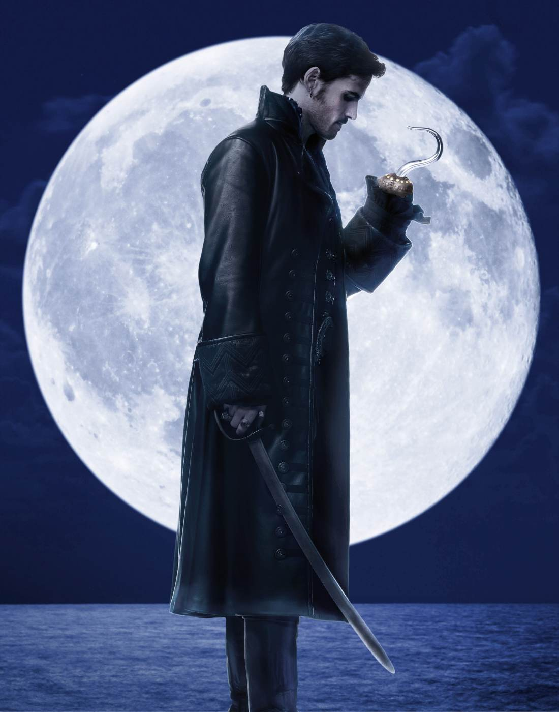 "ONCE UPON A TIME - ABC's ""Once Upon a Time"" stars Colin O'Donoghue as Hook. (ABC/Bob D'Amico)"