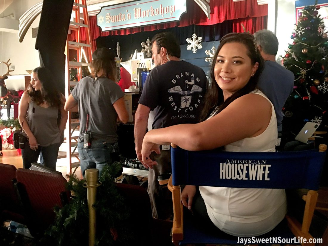 Behind the Scenes with ABC's American Housewife #ABCTVEvent #AmericanHousewife