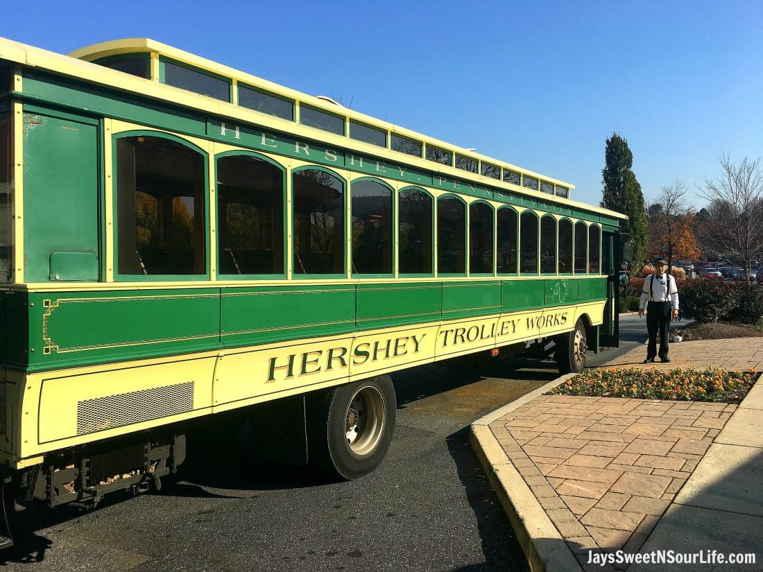Hershey Trolley Ride