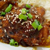 Pressure Cooker Honey Sesame Chicken