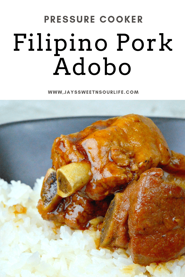 Instant Pot Filipino Pork Adobo. This fall of the bone Filipino Pork Adobo is to die for. Try my families secret recipe and taste what we have been cooking for generations.