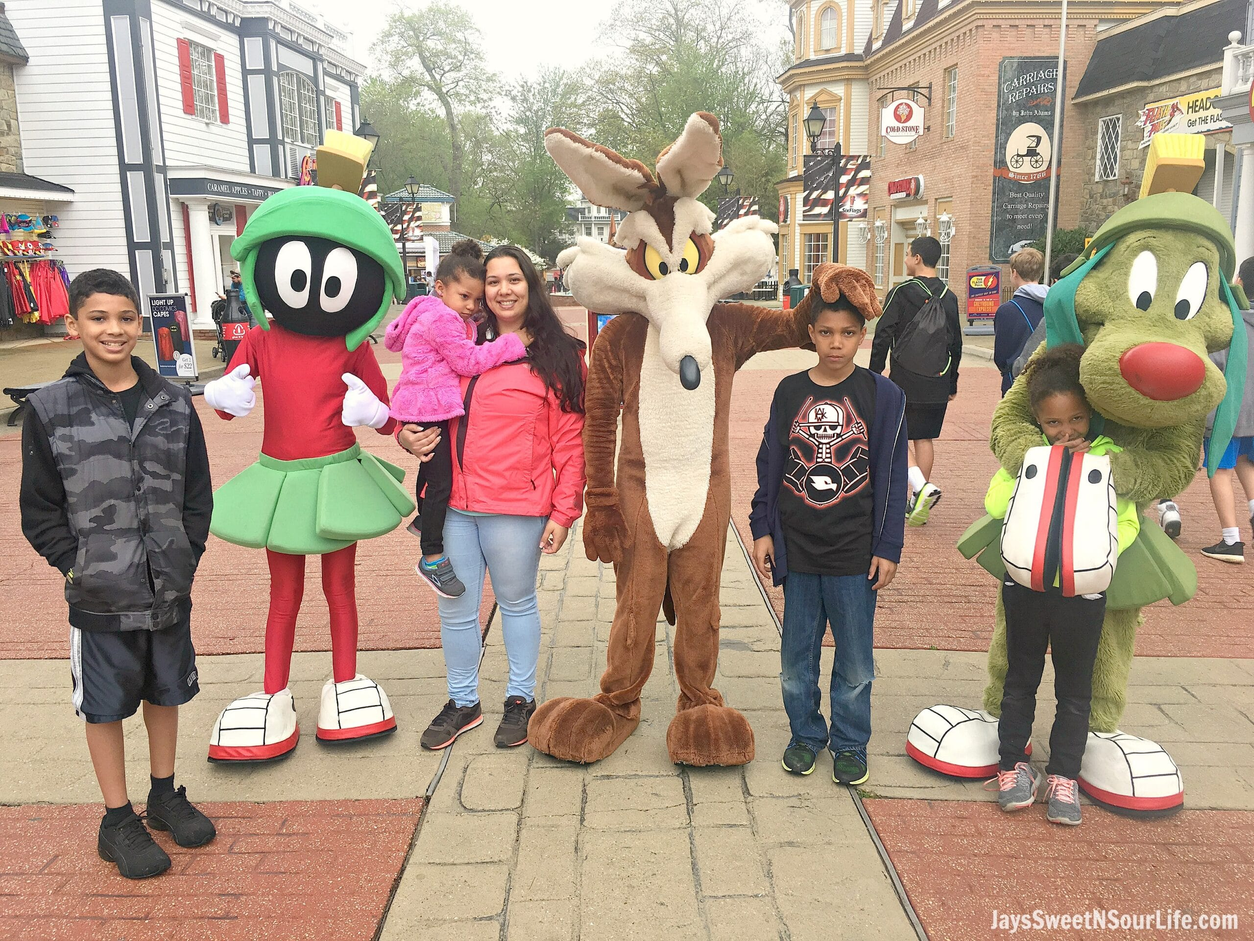 8 Tips For Rainy Day Fun At Six Flags America Family. If you are planning a trip to Six Flags America and realized the weather calls for rain don't cancel your plans! These 8 Tips For Rainy Day Fun At Six Flags America will save the day.