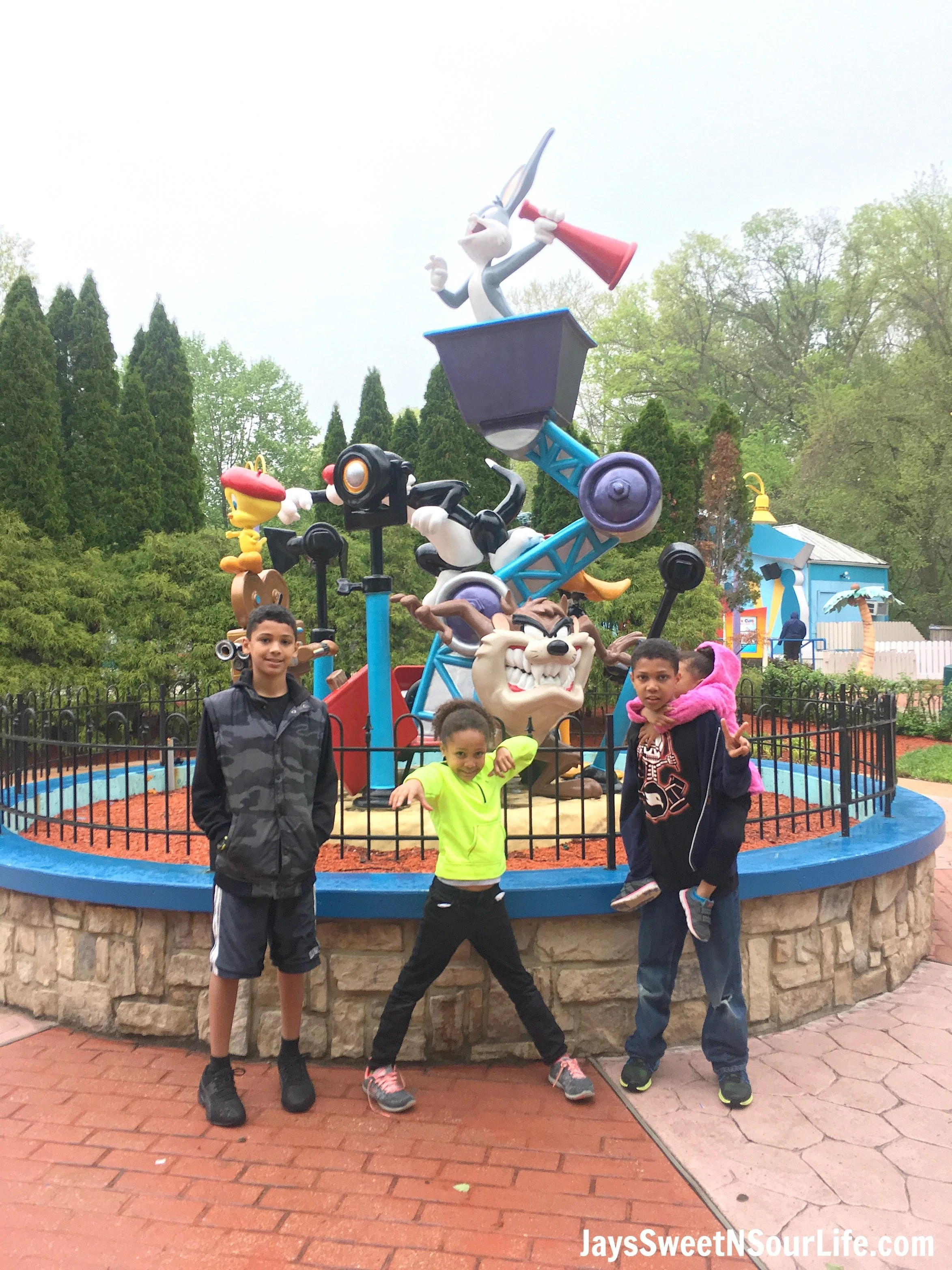 8 Tips For Rainy Day Fun At Six Flags America - Jays Sweet N Sour Life