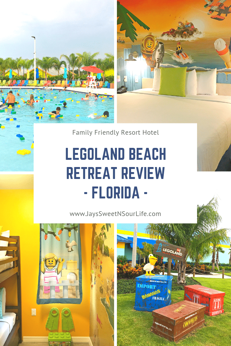 LEGOLAND® Beach Retreat Review. Build some memories at the LEGOLAND Beach Retreat in Florida. Read my review about the fun activities on the property, free breakfast for the family and more!