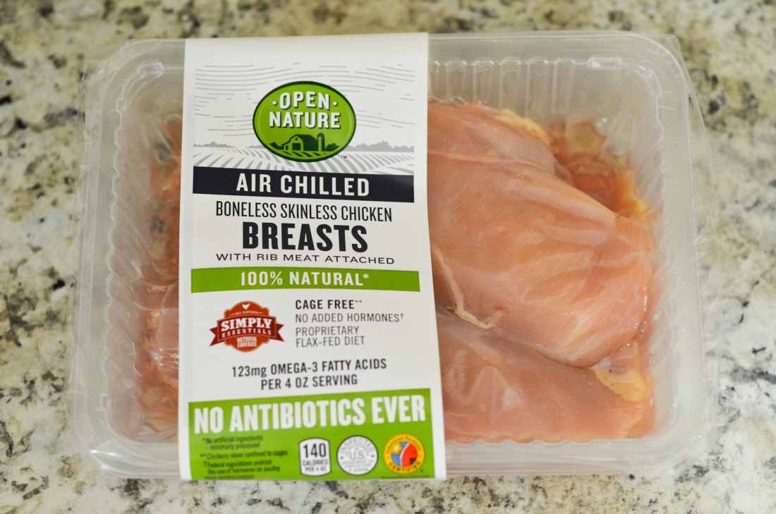 Open Nature® recently added a NEW product to the line: Open Nature® Air Chilled Chicken, available exclusively in Safeway.