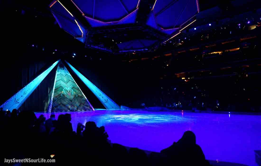 Disney On Ice Presents Frozen coming to a town near you. The stage for the Disney on Ice Presents Frozen Show.