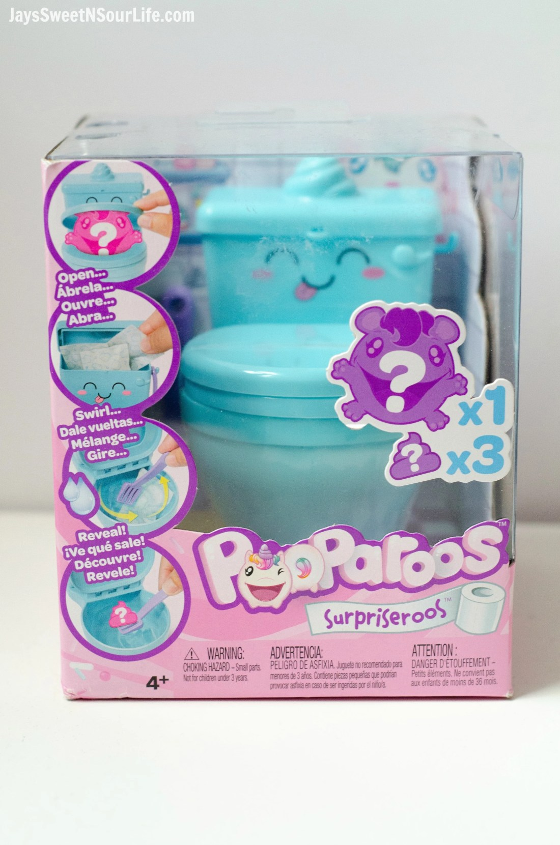 Pooparoos Packaging, full unboxing video and review. Pooparoos are full of fun surprises and tons of fun for all.