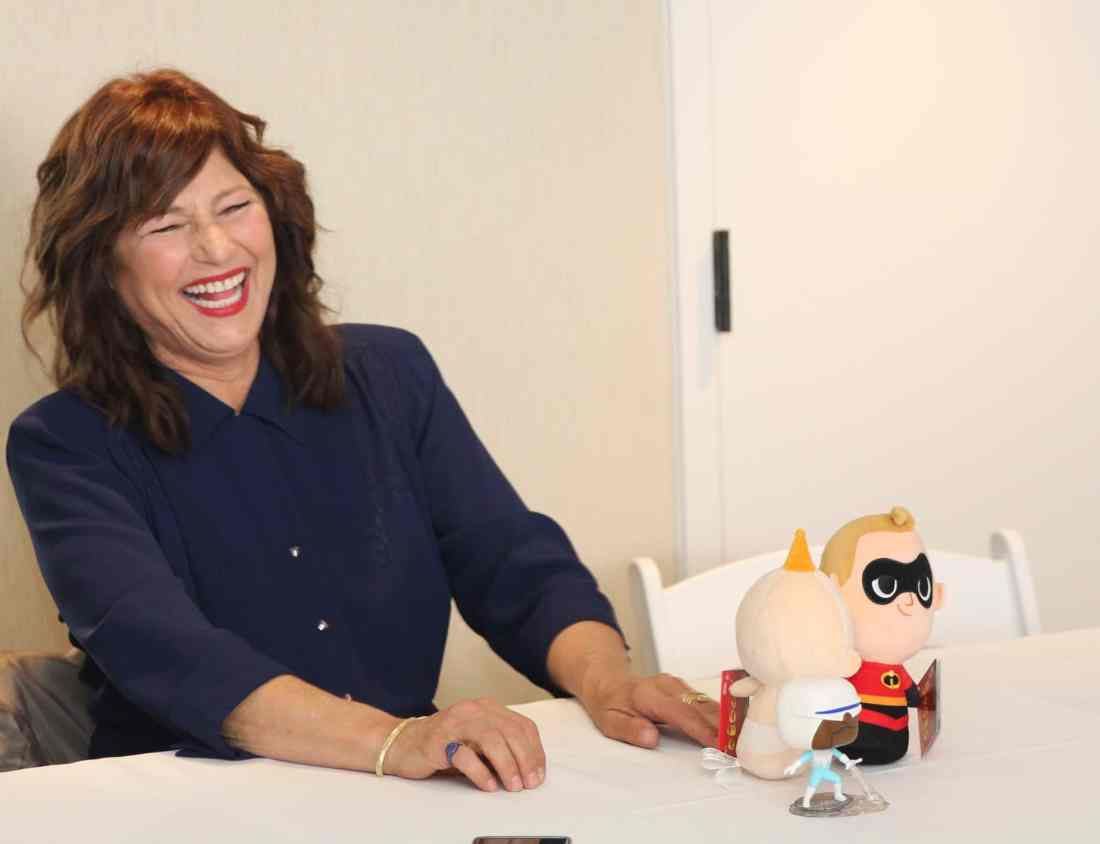 Incredibles 2 Interview withCatherine Keener who plays Evelyn Deavor. Disney Pixars Incredibles 2 film is in theaters everywhere today.