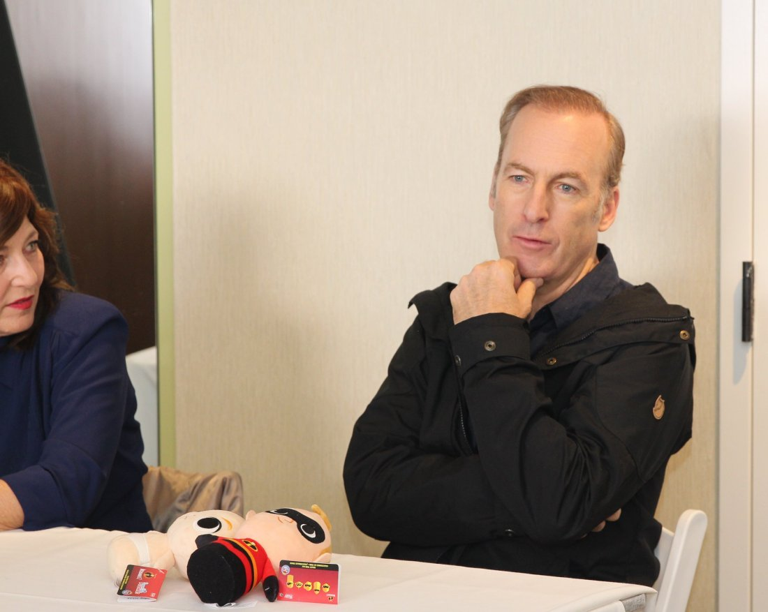 Incredibles 2 Interview with Bob Odenkirk Thinking. Disney Pixars Incredibles 2 film is in theaters everywhere today.