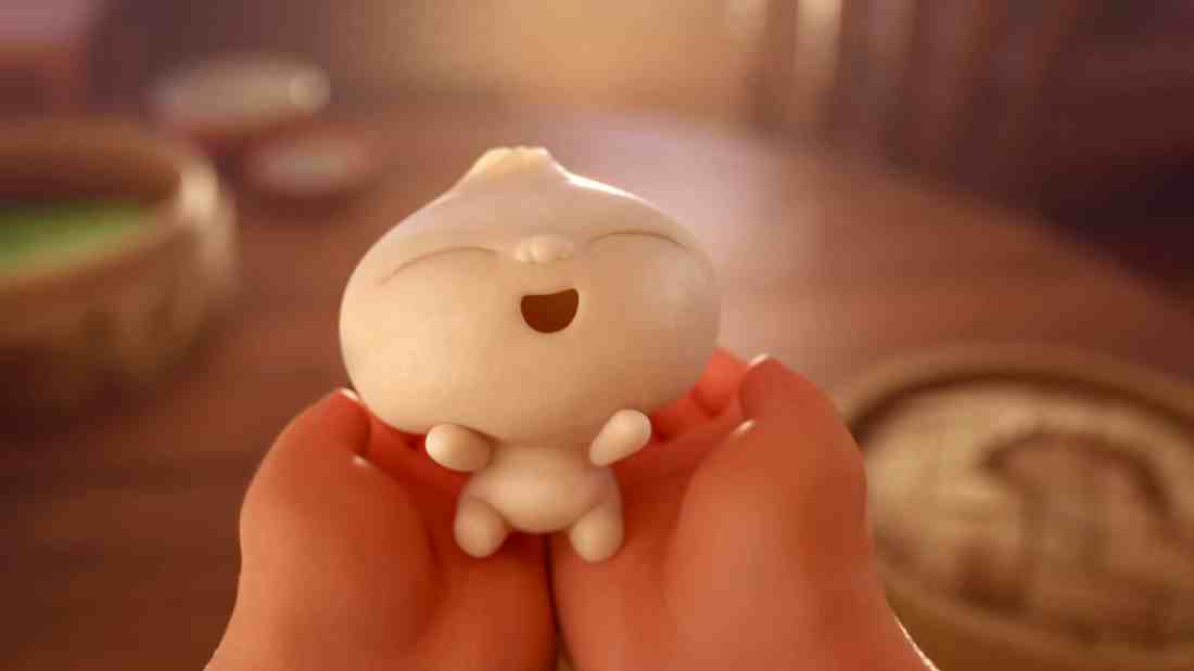 "In Disney•Pixar's all-new short ""Bao,"" a dumpling springs to life as a lively, giggly, dumpling boy, giving an aging Chinese mom another chance at motherhood. When Dumpling starts growing up fast, however, Mom must come to the realization that nothing stays cute and small forever."