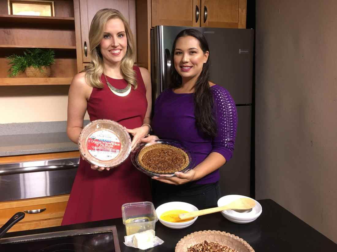 Fox News 45 Morning Show National Pecan Pie Day Featuring Jessica Simms from JaysSweetNSourLife.com. Full recipe as well as fun facts about Pecan Pie.