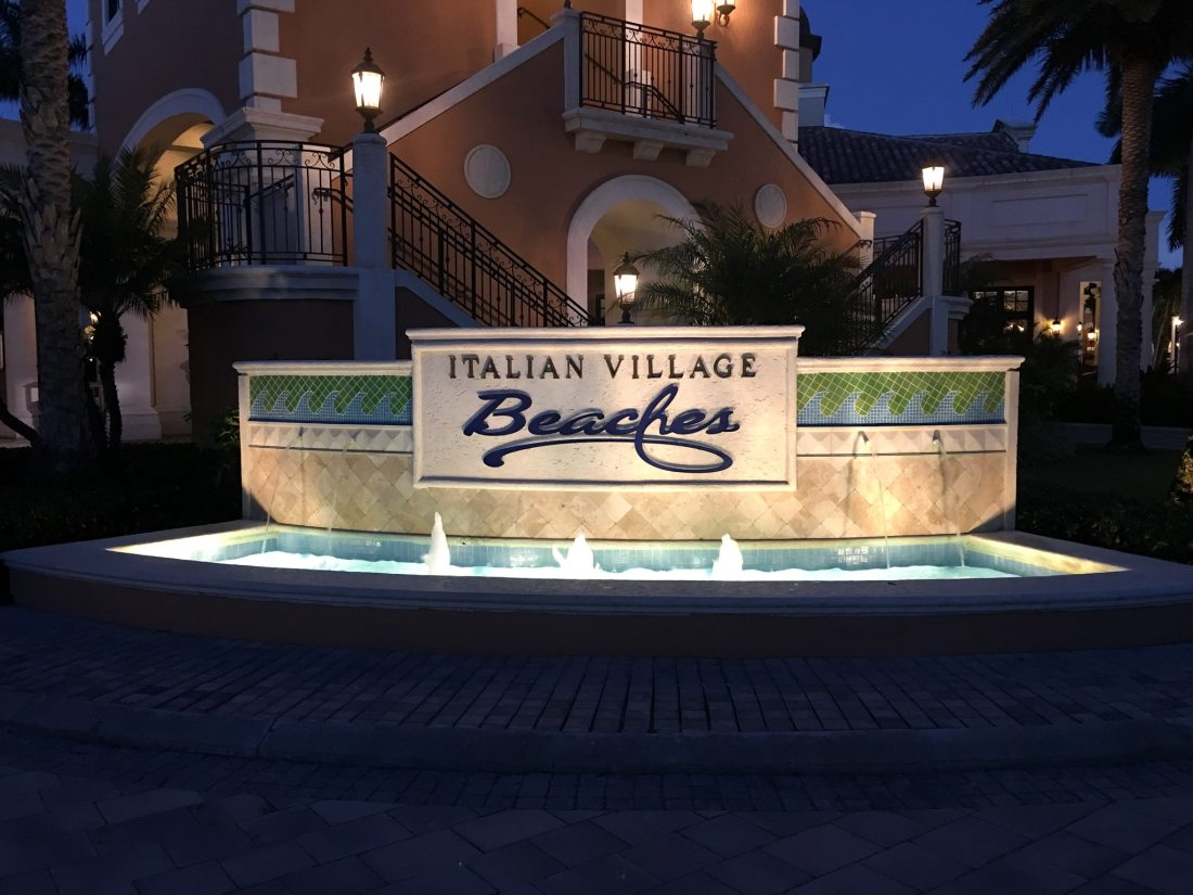 Beaches Resorts in Turks and Caicos Itailian Village Sign. Paradise does exist, and it's only a plane ride away. Take a look inside our suite in this Oceanfront Family Suite Room Tour at Beaches Resorts in Turks and Caicos.