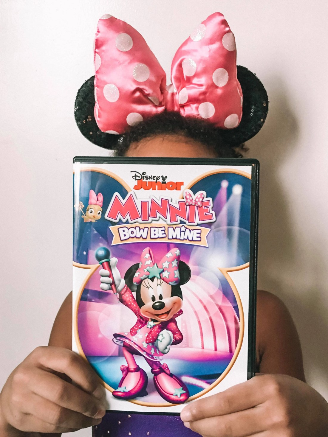 DIsney Jr. Minnie: Bow Be Mine DVD. Minnie and Daisy are tackling new adventures in their newest Disney Jr. DVD Minnie: Bow Be Mine. Filled with 12 fun-filled episodes plus bonus content.