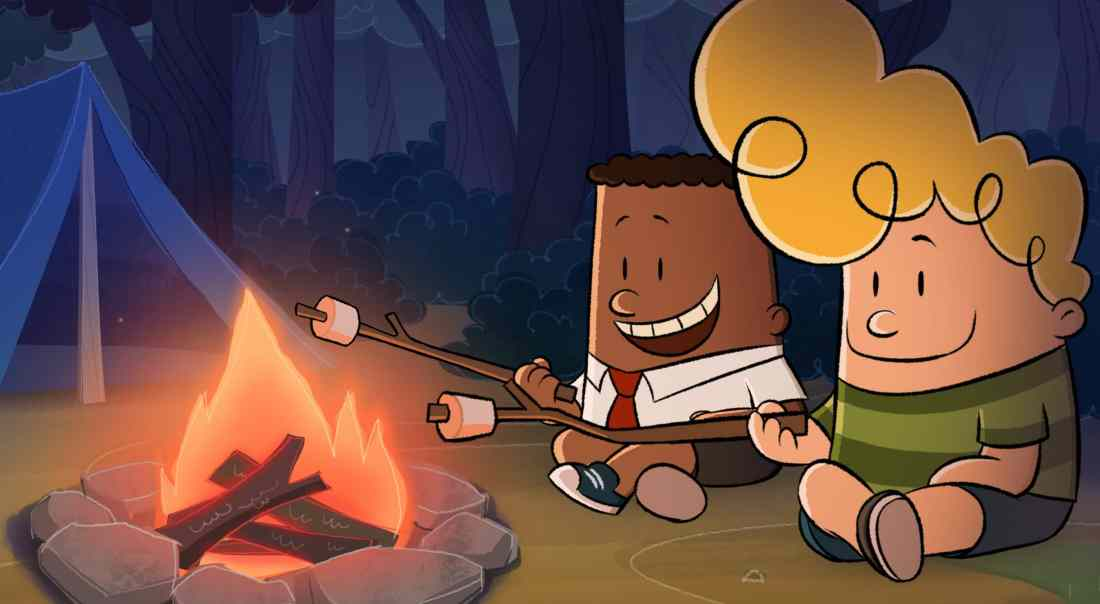 The Epic Tales of Captain Underpants Campfire. The second season of DreamWorks The Epic Tales of Captain Underpants is now available exclusively on Netflix. Read more about it on my blog.