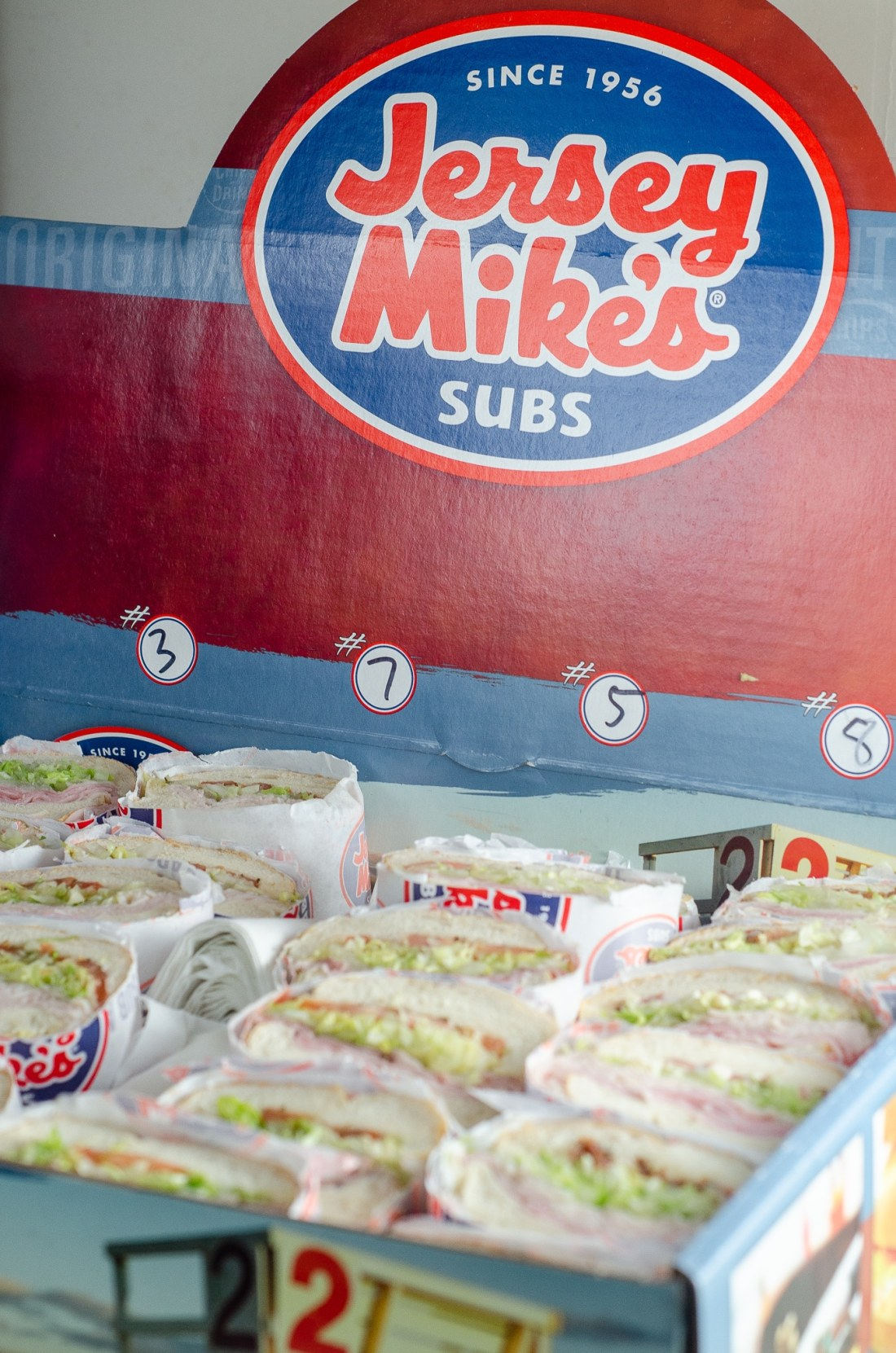 Jersey Mikes Subs Catering Box. Stop stressing about what everyone will be eating on the Big Game Day. Take advantage of some awesome No-Cook Easy Game Day Snack Idea's on the blog now.