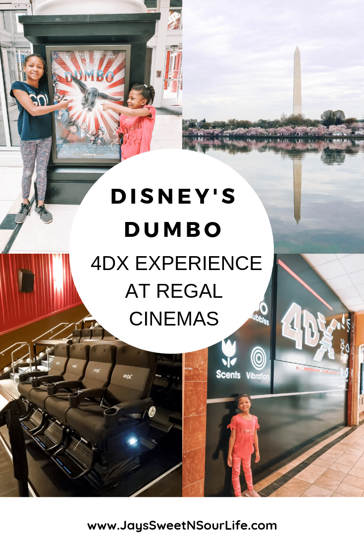 Disney's Dumbo 4DX Experience at Regal Cinemas Fly With Dumbo! Read all about my families 4DX experience at Regal Cinema. Dumbo is flying In Theaters everywhere today!