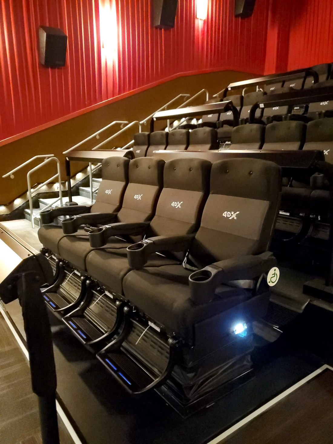 Regal Cinema 4DX Experience Seats. Dumbo flies into theaters on March 29, 2019.