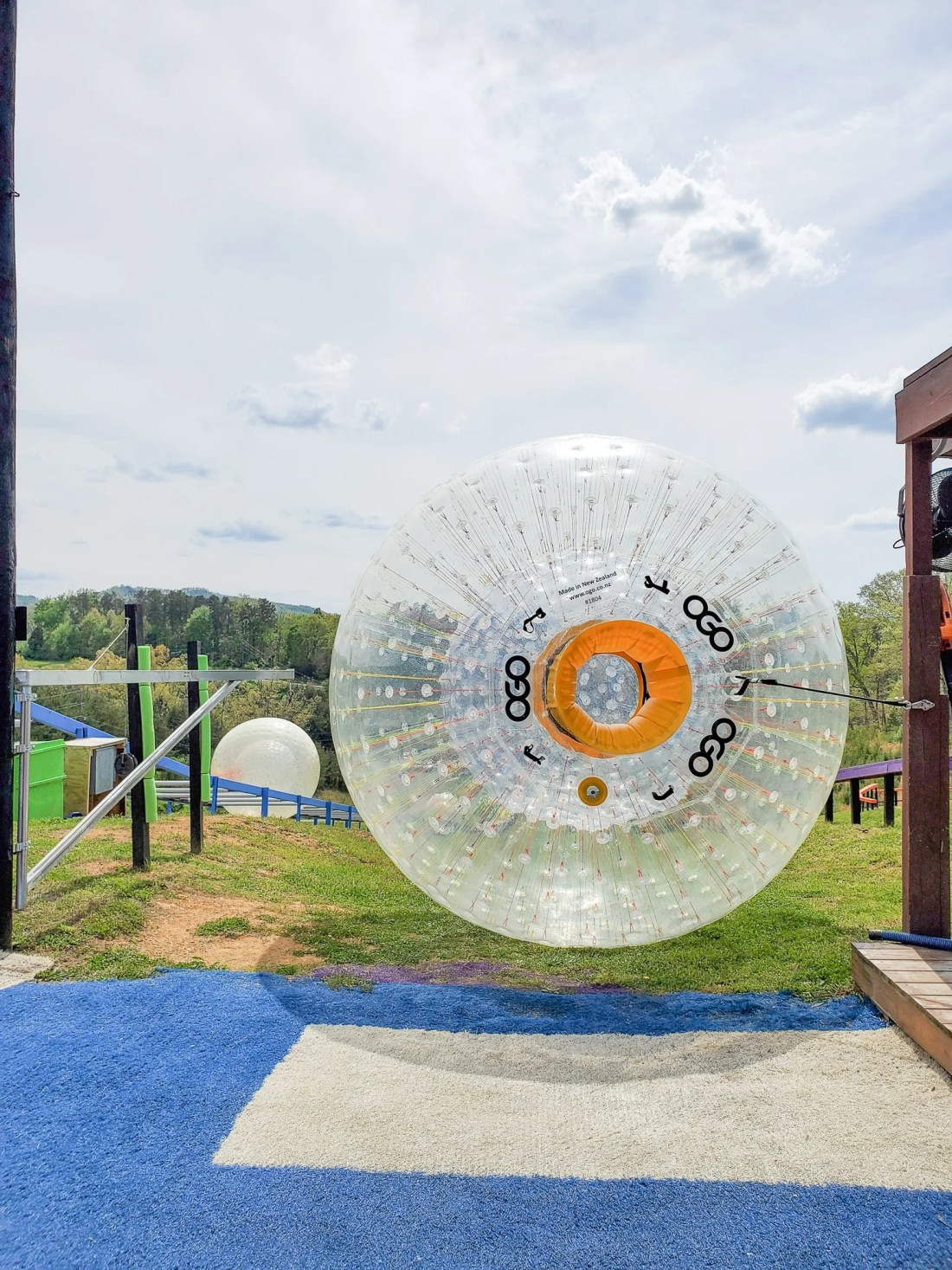 Outdoor Gravity Park Fast Track. Outdoor Gravity Park is an amazing adventure destination in Pigeon Forge, Tennessee at the foothills of the Smoky Mountains featuring zorbing, an attraction straight out of New Zealand.