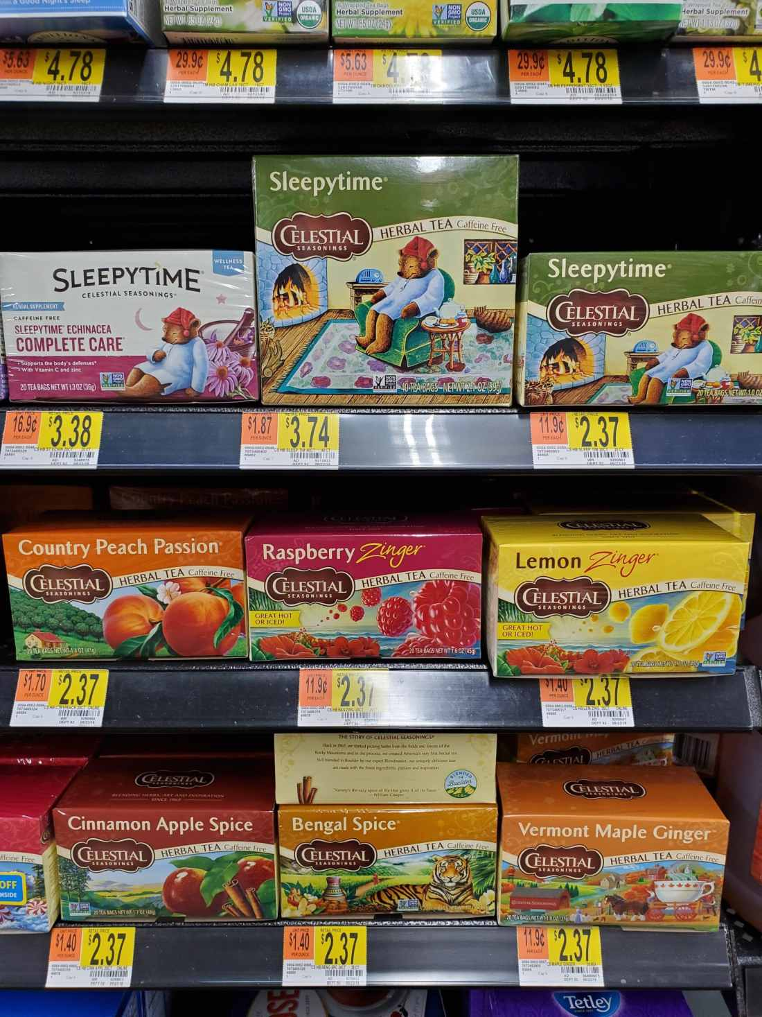 Celestial Seasonings Tea In Walmart. The Banana Berry Zinger Smoothie is the perfect spin on your regular smoothie routine. Its packed with fresh fruits and an herbal tea that is out of this world delicious. Read the full recipe on my blog at www.jayssweetnsourlife.com