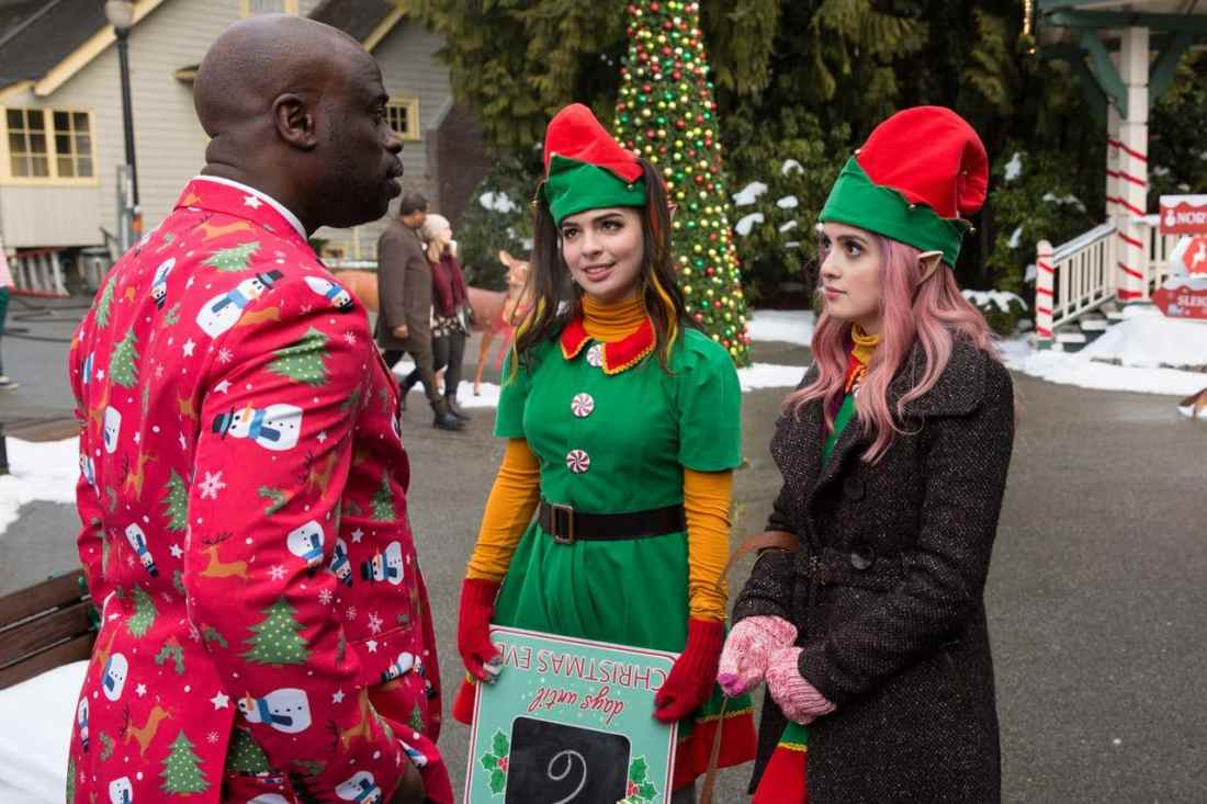 A Cinderella Story Christmas Wish Elf. A Cinderella Story: Christmas Wish is available on Digital beginning October 15, and on Blu-ray™ Combo Pack and DVD on October 29