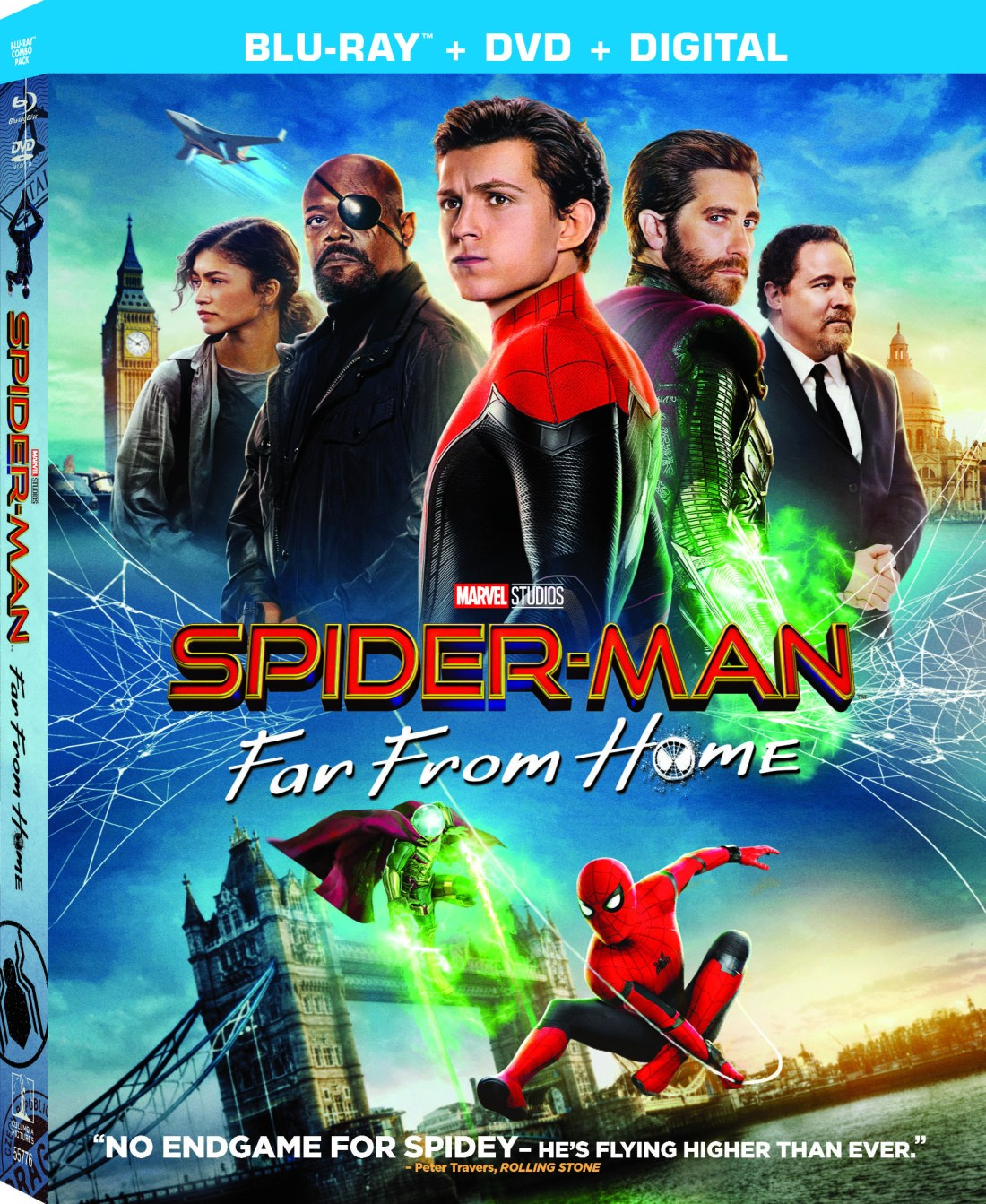 Spiderman Far From Home DVD. Tom Holland returns as everyone's favorite web-slinger in SPIDER-MAN: FAR FROM HOME, the next chapter after Spider-Man: Homecoming.