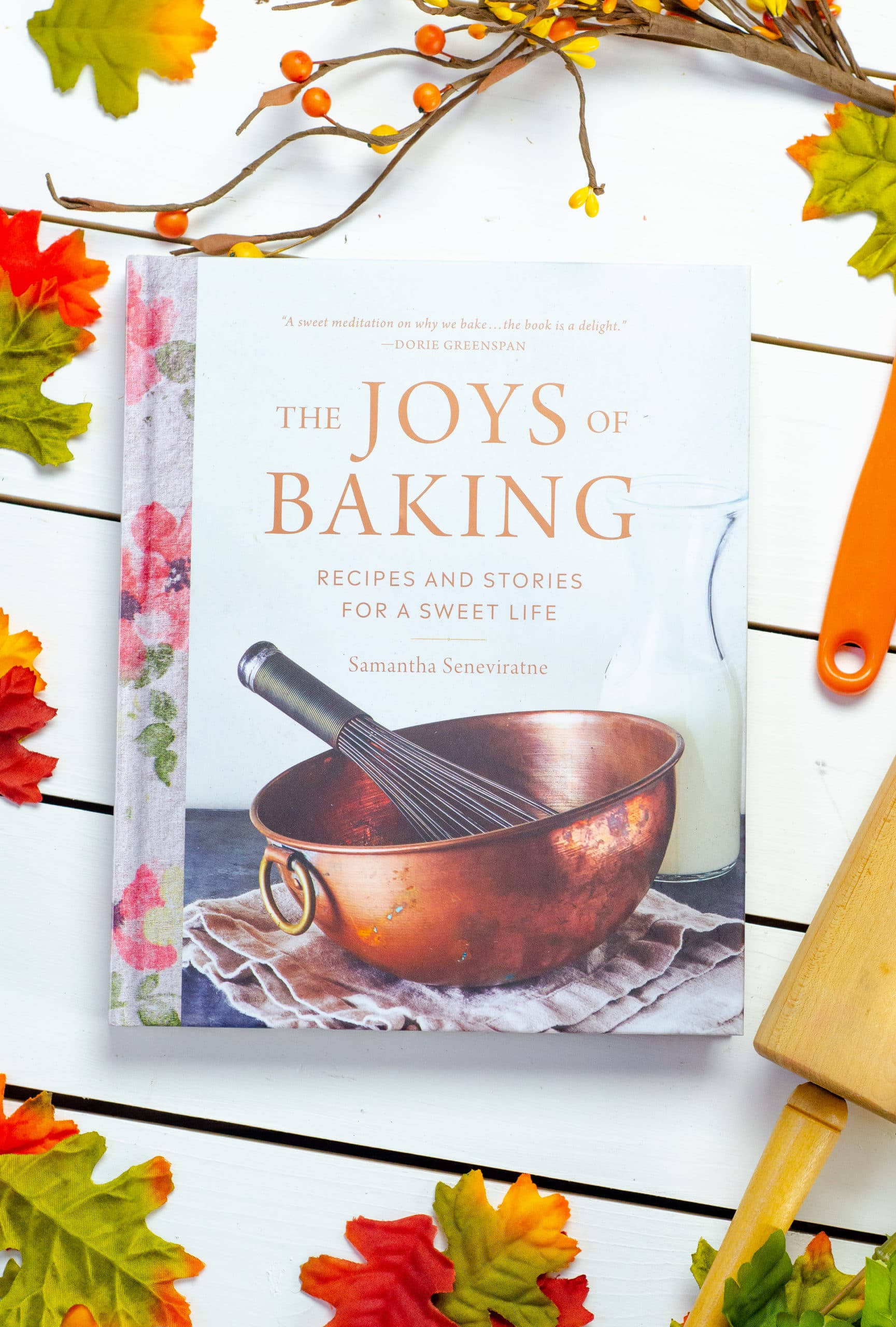 The Joy's of Baking. Gift your hostess a Thanksgiving themed box of goodies. Gift them products they can use on Thanksgiving Day as well as after.