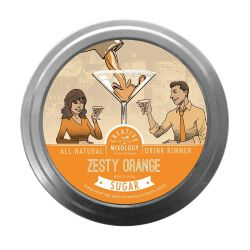 Creative Mixology All Natural Zesty Orange Sugar.Made from all-natural ingredients, these flavored Creative Mixology Sugar Drink Rimmers elevate your drink menu, adding color, sparkle and taste to margaritas, martinis and specialty drinks.