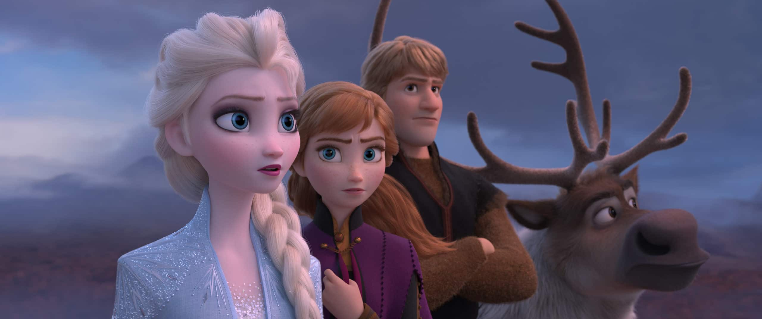 """From the Academy Award®-winning team—directors Jennifer Lee and Chris Buck, and producer Peter Del Vecho—and featuring the voices of Idina Menzel, Kristen Bell, Jonathan Groff and Josh Gad, and the music of Oscar®-winning songwriters Kristen Anderson-Lopez and Robert Lopez, Walt Disney Animation Studios' """"Frozen 2"""" opens in U.S. theaters on Nov. 22, 2019."""