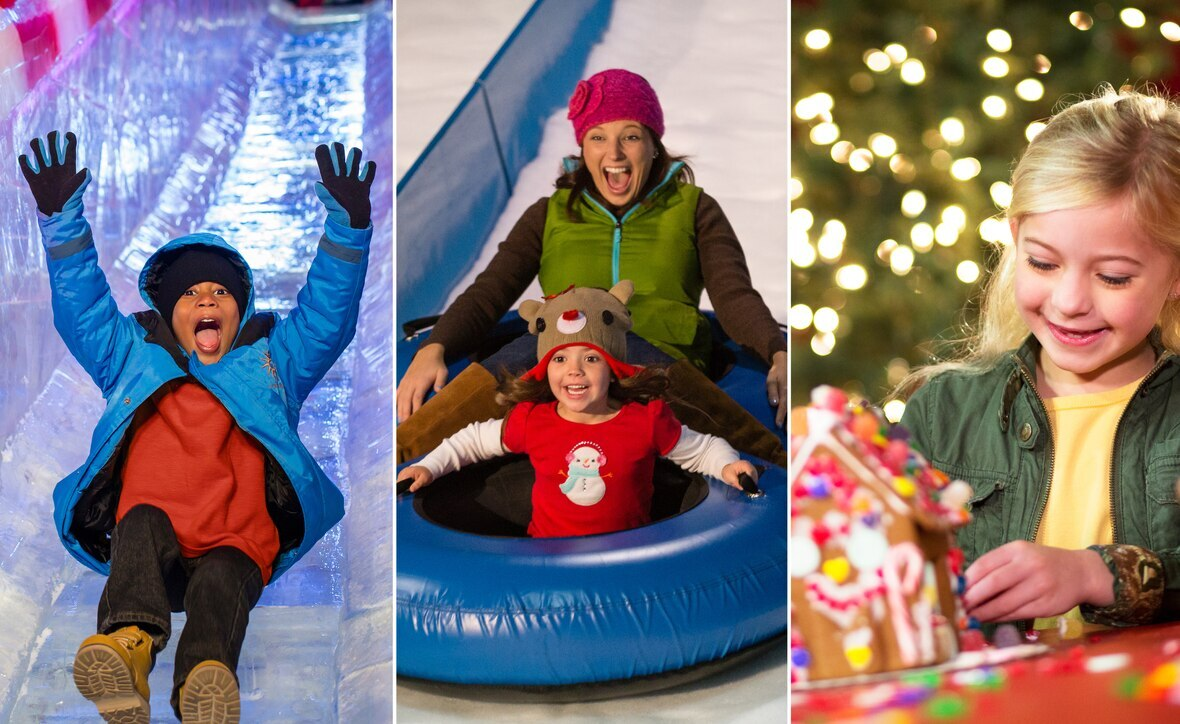 Gaylord Hotels Christmas On The Potomac. You and your family will marvel at more than 2 million holiday lights and acres of magnificent decorations, plus spectacular holiday activities and events that are sure to get you in the spirit of the season and create lasting family memories!