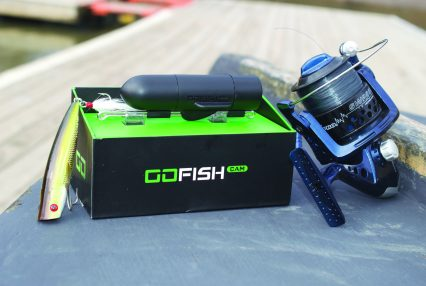 GoFish Cam. Take the guesswork out of fishing to entice people of all ages and experience levels. GoFish Cam is a wireless underwater HD video camera that sits on your fishing line and reveals all the underwater action.