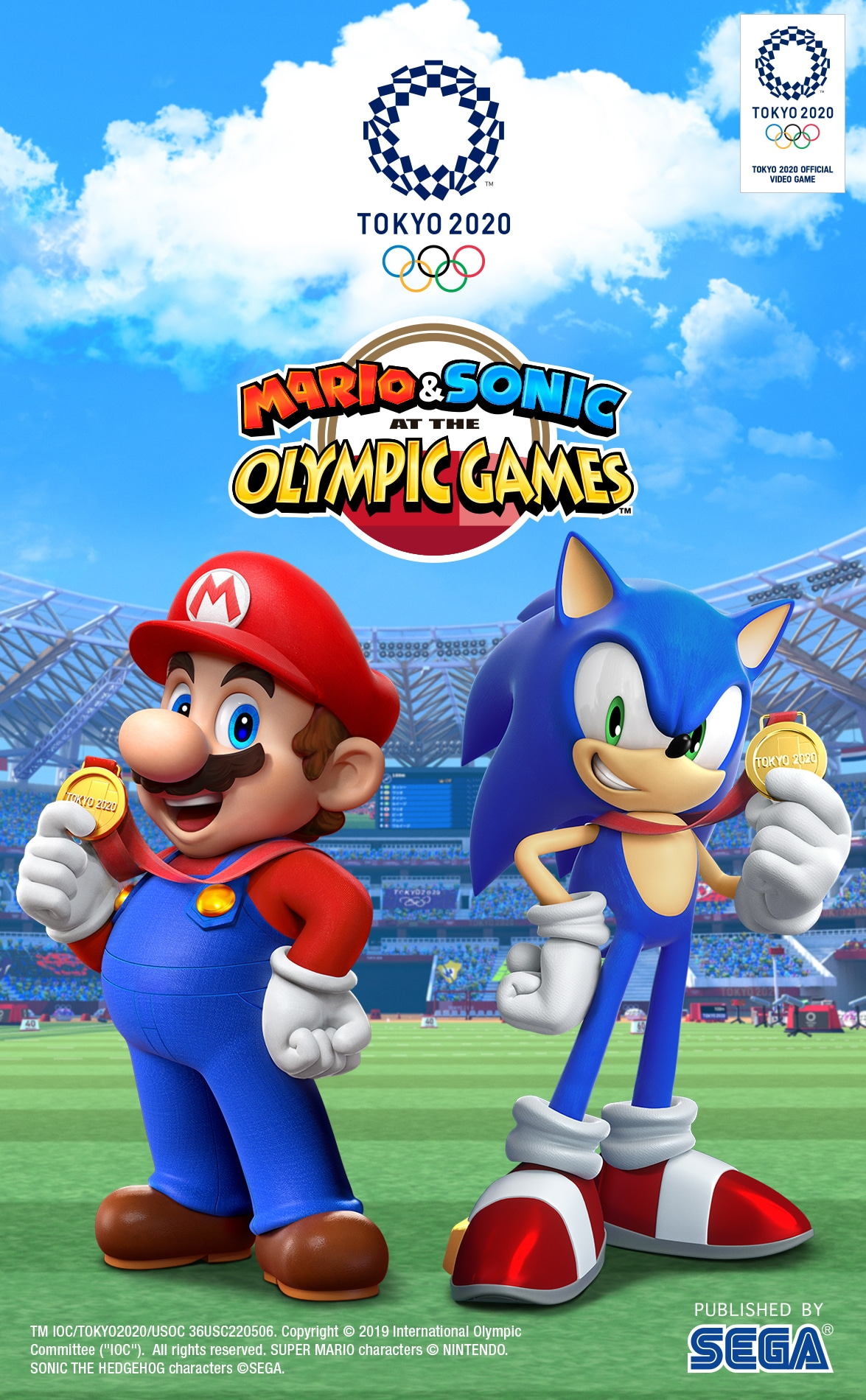 Mario and Sonic Horizontal. It's party time, and everyone's invited! Team up with Mario, Sonic, and friends on Nintendo Switch in action-packed sporting events! Bring your best moves to the track, the gym, the ring, or the water in dozens of different party games everyone will enjoy.