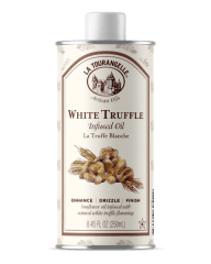 White Truffle Oil. For the food lover on your holiday list, La Tourangelle's White Truffle Infused Oil will create that special holiday experience with complex notes of woods, earth and fruit that are characteristic of the Italian White Alba Truffle.