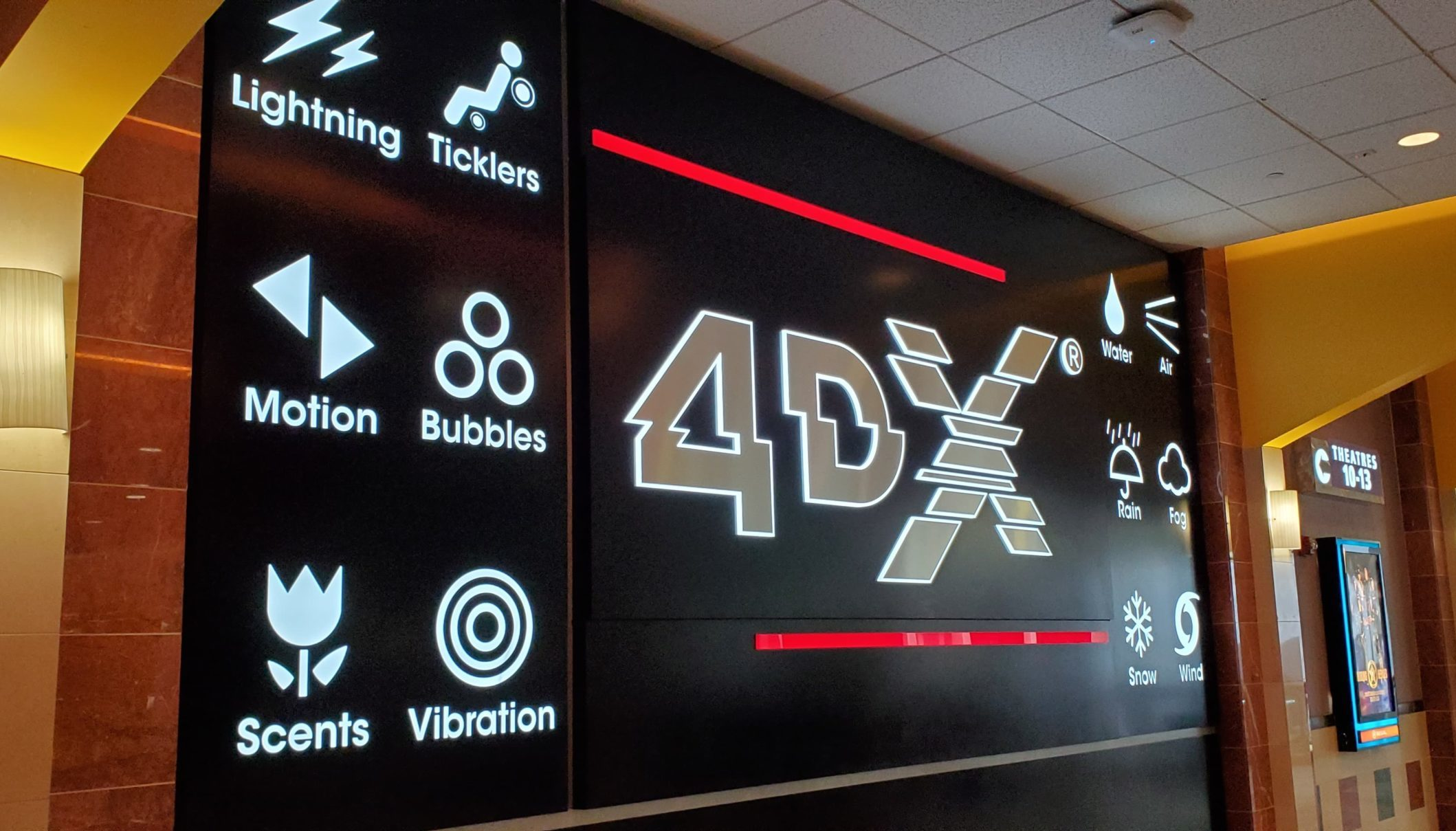 Regal CInema 4dx Sign. The Bad Boys Mike Lowrey and Marcus Burnett are back together for one last ride in the highly anticipated Bad Boys for Life. Read my full Bad Boys 4 Life 4DX Expereince and Movie review on my blog now!