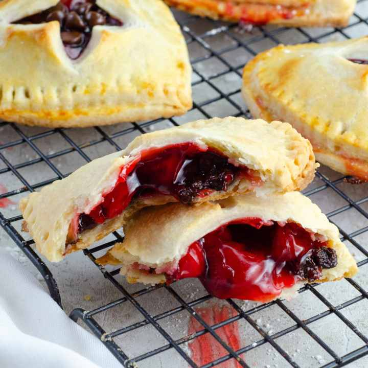 Chocolate Cherry Hand Pies