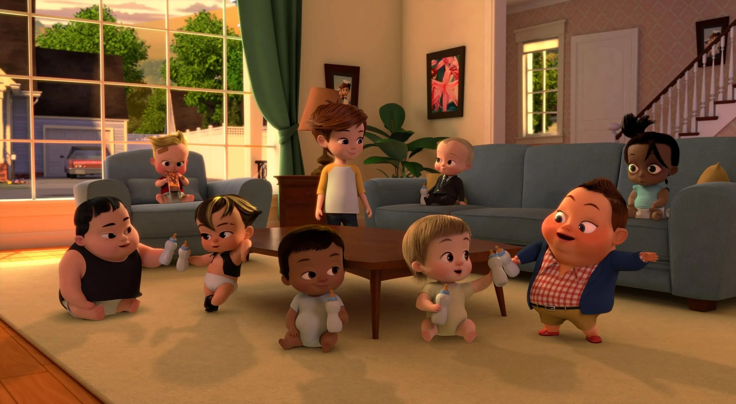 All Babies and Tim. Boss Baby Season 3 Back In Business - Netflix Premiere March 16. The boss is back, baby! After a long sabbatical everyone's favorite modern career baby makes a comeback in the newly launched Season 3 trailer for ?DreamWorks The Boss Baby Back in Business?.