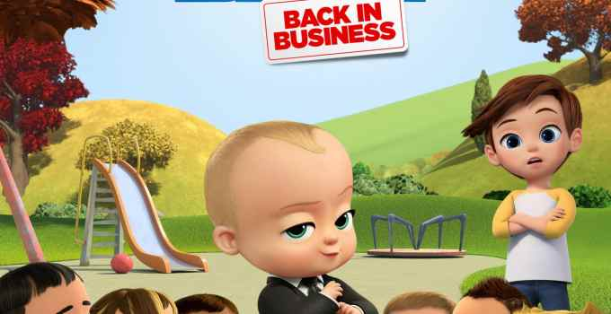 Dreamworks The Boss Baby Back in Business – Streaming Now on Netflix