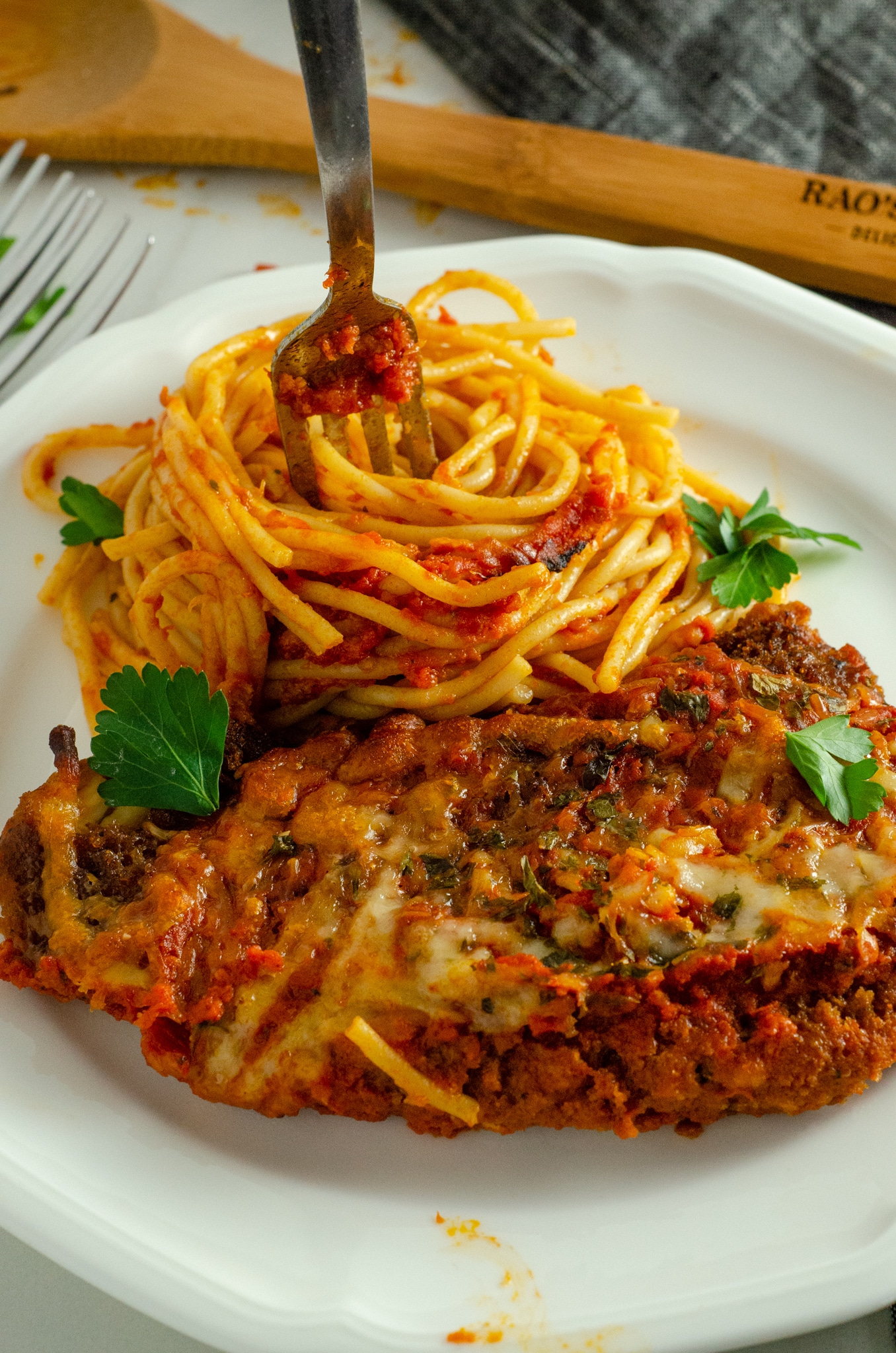 Rao's Chicken Parmesan. March is National Frozen Food Month and what better way to celebrate it by shopping for your favorite frozen food brands at your local Harris Teeter. Grab this and other wonderful frozen food products in the freezer asile.