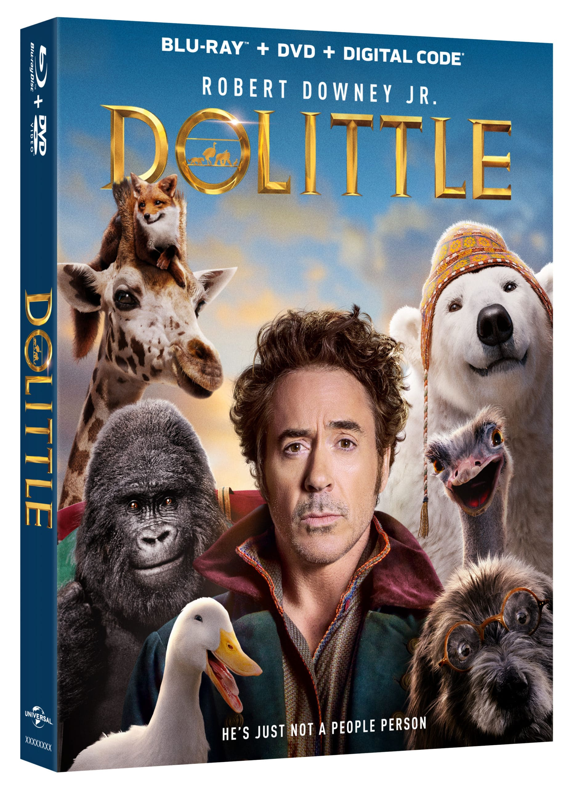 Own the movie all the animals are talking about and go an epic journey with a hilarious always cold bear, an anxious gorilla, a lovable giraffe, a ferocious tiger, and more! Dolittle available on 4K Ultra HD™, Blu-ray™, DVD and On Demand TODAY!