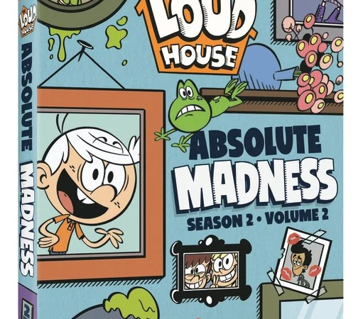 Lincoln and his sisters are back inThe Loud House: Absolute Madness – Season 2, Volume 2 DVD, where lessons are learned, friends are made, and everyone is making moves.