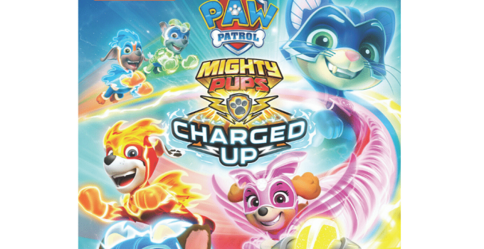 PAW Patrol: Mighty Pups Charged Up DVD Giveaway!