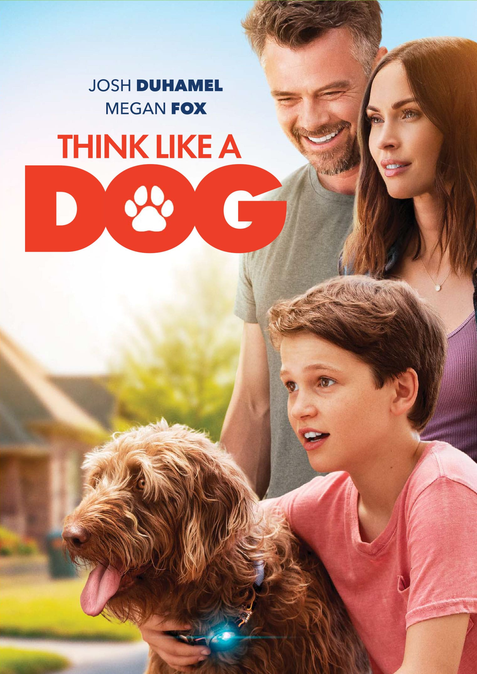 Think Like A Dog Poster. It's time to give canines some love! Don't miss the paws-itively heartwarming family comedyThink Like a Dog, premiering on Digital, and On Demand June 9 from Lionsgate.