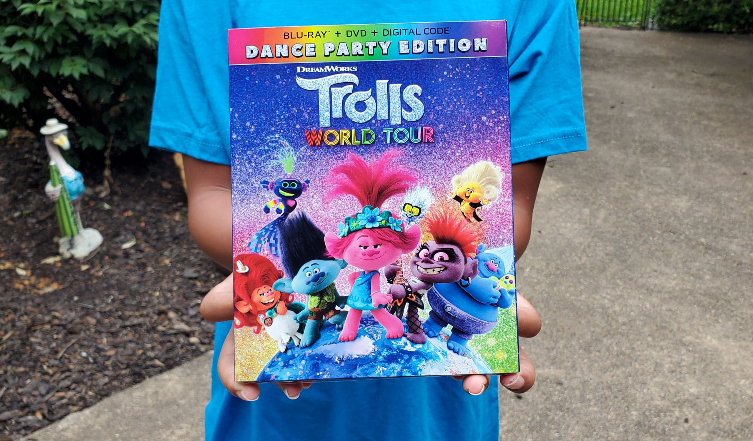 Trolls World Tour Dance Party Edition DVD. View a special Trolls World Tour Unboxing in honor of the release of the Dance Party Edition, available on Digital 4K, Blu-ray, and DVD today!