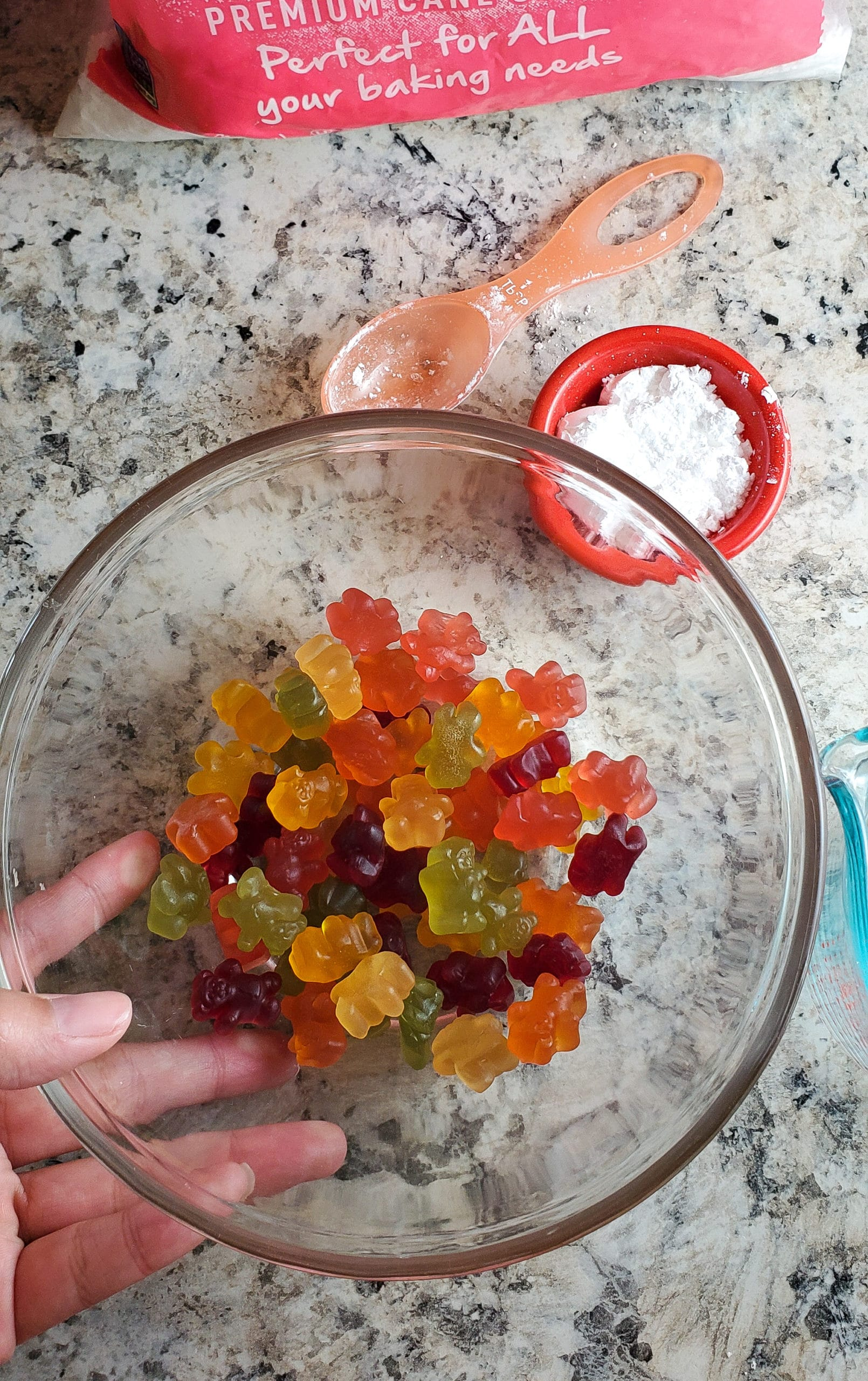 Gummy Bear Slime In Bowl. Get ready for loveable bear hugs, digital culture references, life lessons, and Gummy Bear Slime! Stack the bears up, squish them down and make this adventurous slime that you can actually eat!