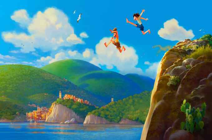 """Set in a beautiful seaside town on the Italian Riviera, the original animated feature is a coming-of-age story about one young boy experiencing an unforgettable summer filled with gelato, pasta, and endless scooter rides. Disney Pixar's """"Luca"""" is set to open in U.S. theaters June 18, 2021."""