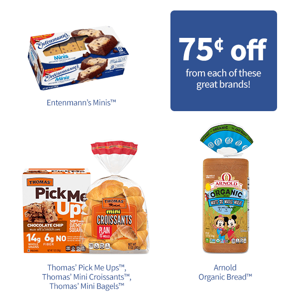 Available at Publix, these Thomas'®, Entenmann's® Minis, Arnold® products will be sure to make the back to school transition easier! The goodness you want with the convenience you need. Be sure to look for these new and exciting products as your new school lunch solutions!