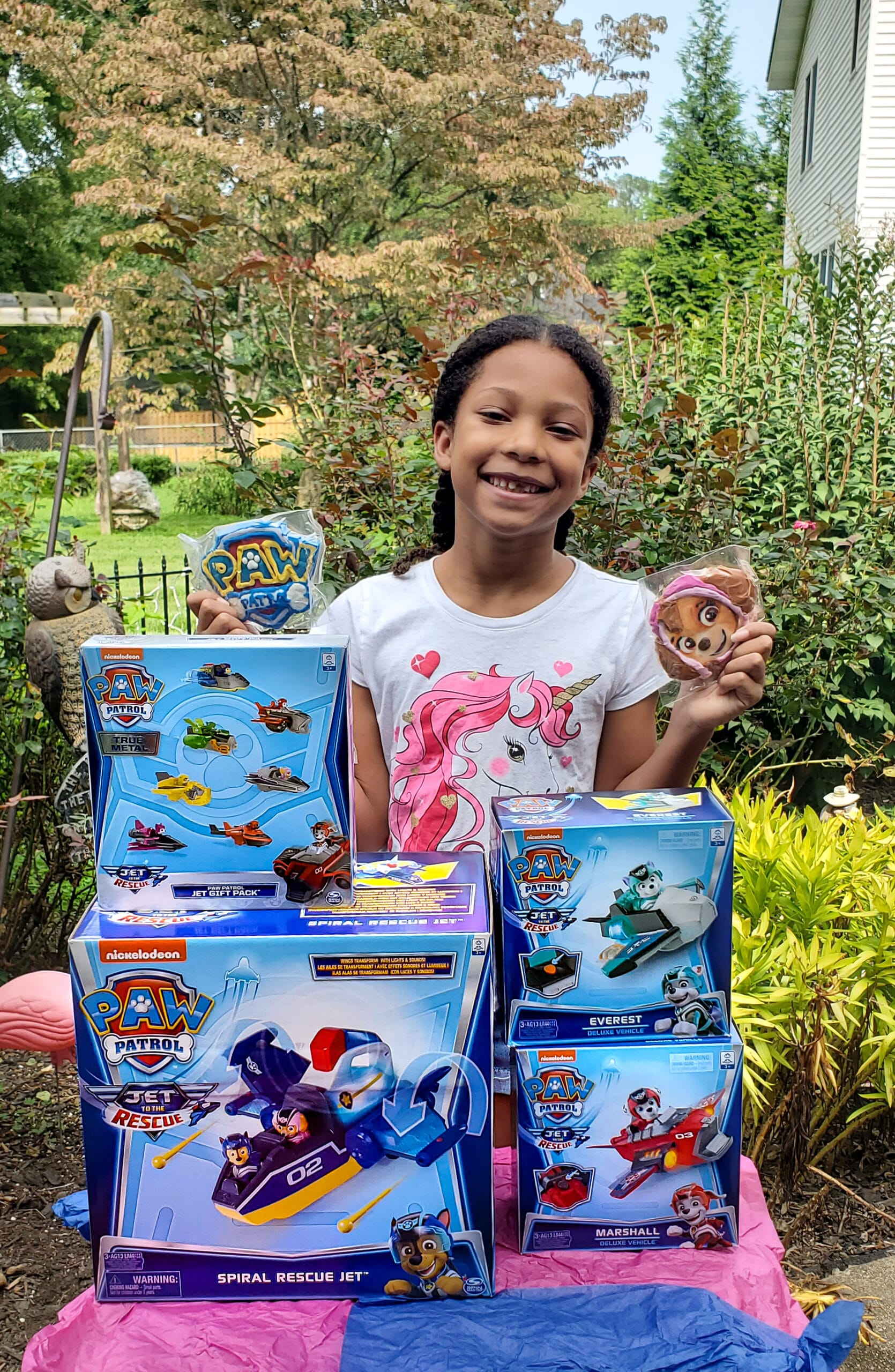 PAW Patrol: Jet to the Rescue Unboxing Toys. Get ready for high-flying adventures with thePAW Patrolpups in the brand-new DVDPAW Patrol: Jet to the Rescue. In celebration of the release of this special feature, Nickelodeon sent us a surprise box full of PAW Patrol goodies! View all of the fun new PAW Patrol: Jet to the Rescue themed toys available on my blog.