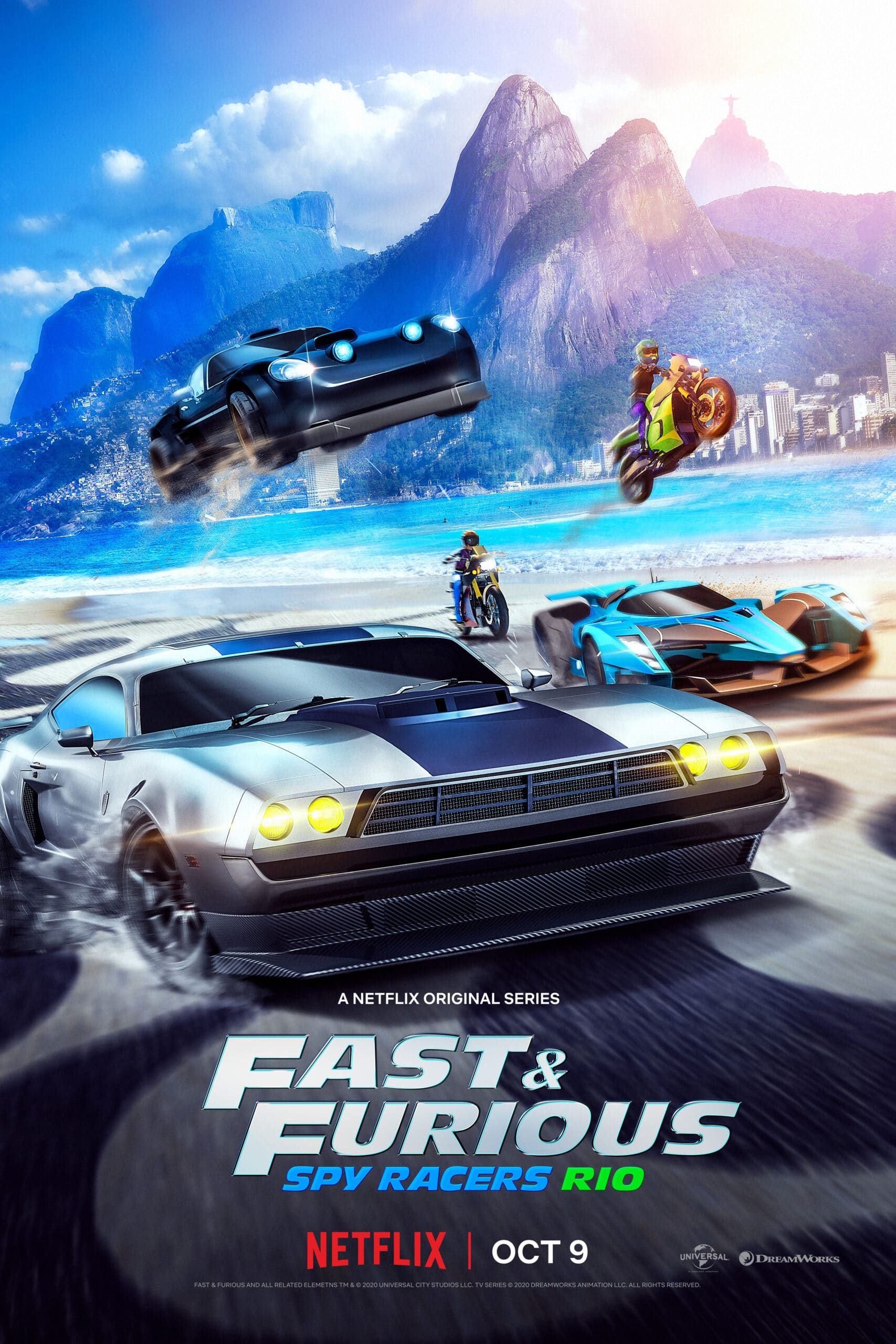 Fast & Furious: Spy Racers Trailer. Universal and DreamWorks Animation have released the second season trailer for the hit Netflix Original series Fast & Furious: Spy Racers, which finds the team heading to Rio de Janeiro on October 9. Check out the full trailer below, as well as more information about what to expect in Season 2